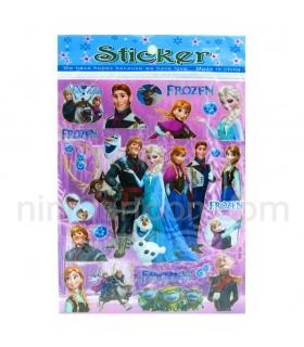 استیکر آنا و السا - فروزن - Forzen - Anna and Elsa Sticker