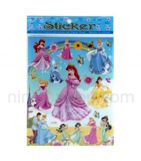 استیکر پرنسسهای دیزنی - Disney Princess Sticker