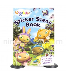 کتاب Waybuloo: Sticker Scene Book