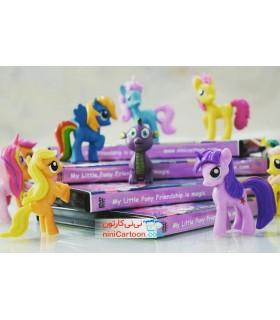ست 12تایی فیگور عروسک های پونی -My Little Pony