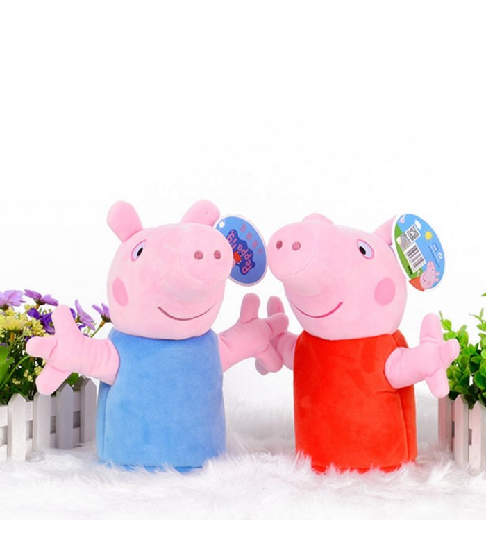 عروسک های نمایشی پپاپیگ و جورج ست دو تایی - PeppaPig