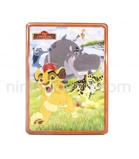 پکیج فعالیت فلزی گارد شیر (سیمبا) Disney Junior The Lion Guard Happy Tin