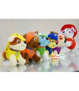 عروسک های پولیشی 6 عددی سگهای پاوپاترول