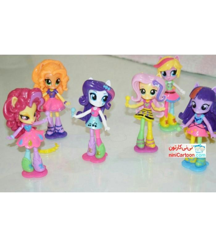ست 6 عددی عروسک های پونی - My Little Pony