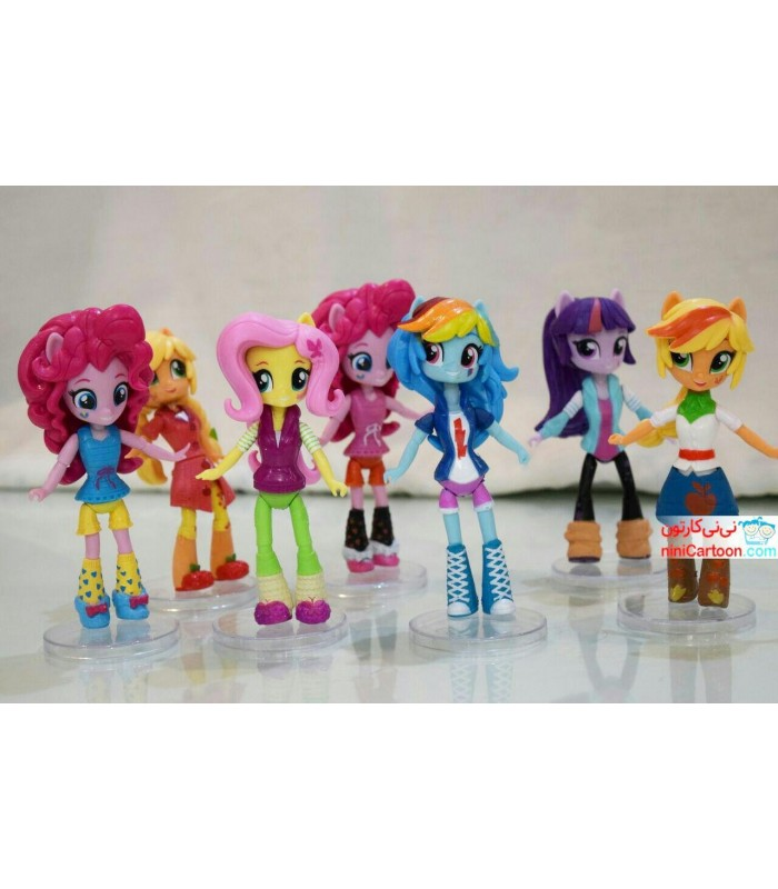 ست 7 عددی عروسک های پونی - My Little Pony