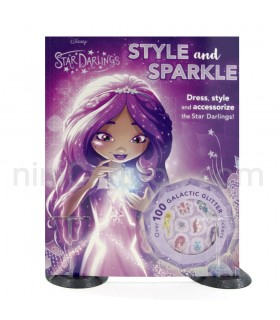 کتاب فعالیت استیکر دار Disney Star Darlings Style and Sparkle : Dress, Style and Accessorize the Star Darlings!