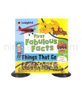 کتاب آموزش وسایل نقلیه - First Fabulous Facts - Things That Go