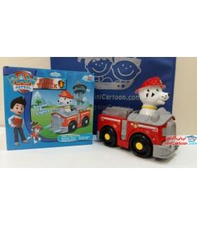 اسباب بازی سگ های نگهبان مدل - مارشال آتشنشان - Paw Patrol