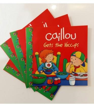 كتاب داستان انگلیسی كايلو -Caillou Gets The Hiccups