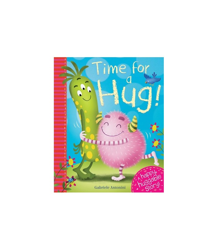 کتاب اورجینال انگلیسی Time for a Hug - کد 1049