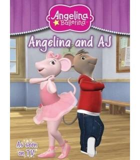 کتاب اورجینال انگلیسی آنجلینا بالرینا - Angelina Ballerina and AJ - کد 1007