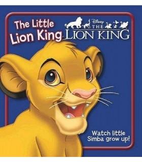 کتاب اورجینال انگلیسی شیر شاه - The Little Lion King - کد 1017