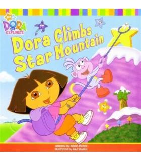 کتاب اورجینال انگلیسی دورا - Dora the Explorer: Dora Climbs Star Mountain - کد 1013