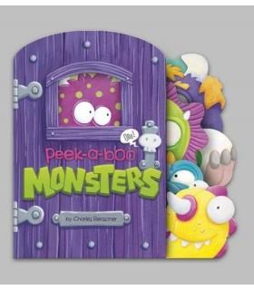 کتاب اورجینال انگلیسی - Peek-a-Boo Monsters - کد 1018