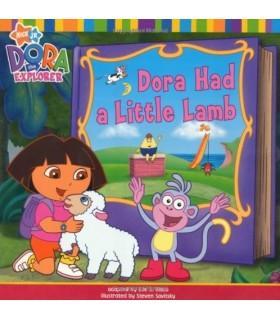 کتاب اورجینال انگلیسی - Dora the Explorer: Dora Had a Little Lamb - کد 1012