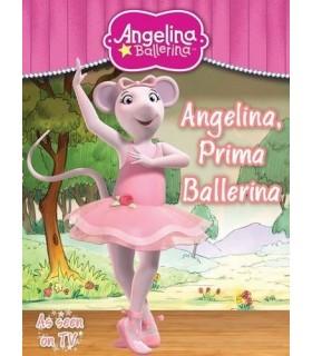 کتاب اورجینال انگلیسی آنجلینا بالرینا - Angelina Ballerina: Angelina, Prima Ballerina - کد 1009