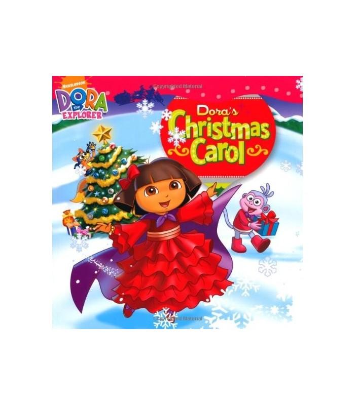 کتاب اورجینال انگلیسی دورا - Dora the Explorer: Dora's Christmas Carol - کد 1011