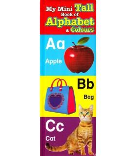کتاب اورجینال انگلیسی - My Mini Tall Book:Alphabet - کد 1028