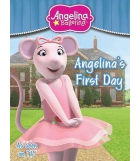 کتاب اورجینال انگلیسی آنجلینا بالرینا - Angelina Ballerina: Angelina's First Day - کد 1010
