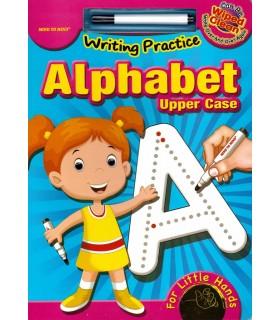 کتاب اورجینال انگلیسی - تمرین نوشتن الفبا - Writing Practice: Alphabet, Upper Case - کد 1036