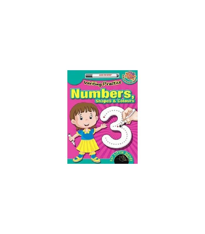 کتاب اورجینال انگلیسی تمرین نوشتن اعداد - Writing Practice: Numbers - کد 1037