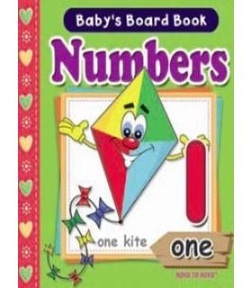 کتاب انگلیسی اورجینال - اعداد - Baby's Board book: Numbers - کد 1039