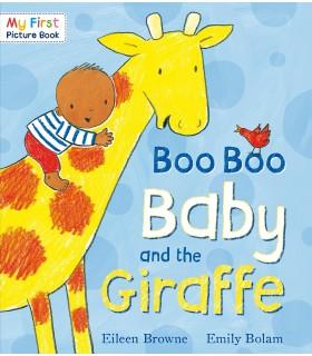 کتاب اورجینال انگلیسی - Boo Boo Baby and the Giraffe - کد 1051