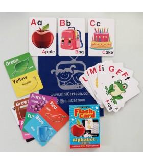 فلش کارت اورجینال انگلیسی - Flash Card: Alphabet - کد 1027