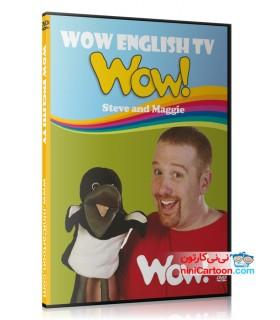 مجموعه آموزشی استیو و مگی - Steve and Maggie - WOW English TV