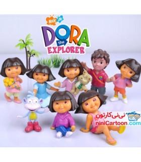 فيگور 8تایی دورا - Dora the Explorer