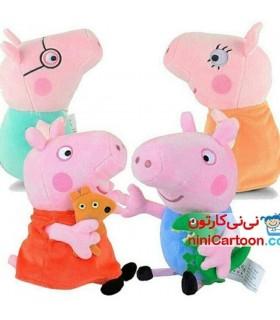 عروسک های پولیشی خانواده پپاپیگ - Peppa Pig