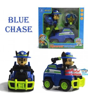 اسباب بازی سگ های نگهبان ماشین سوار مدل Paw Patrol - Chase