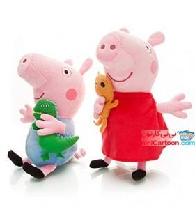 ست 2تایی پپاپیگ و جورج - Peppa Pig