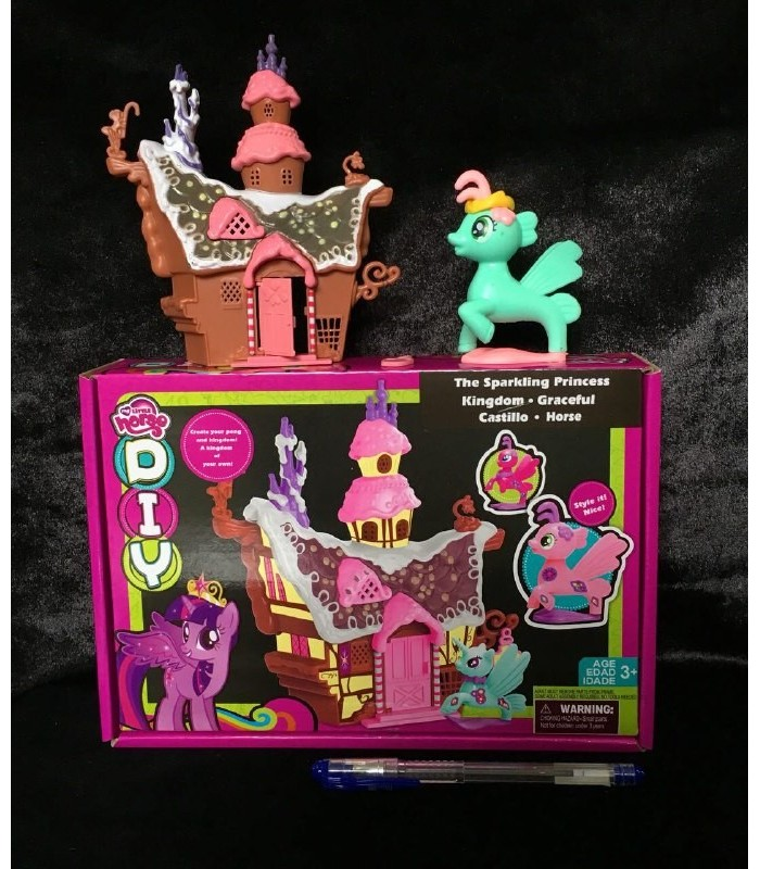 خانه پونی جعبه دار با پونی - My Little Pony