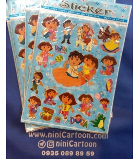 استيكر دورا - Sticker Dora the Explorer