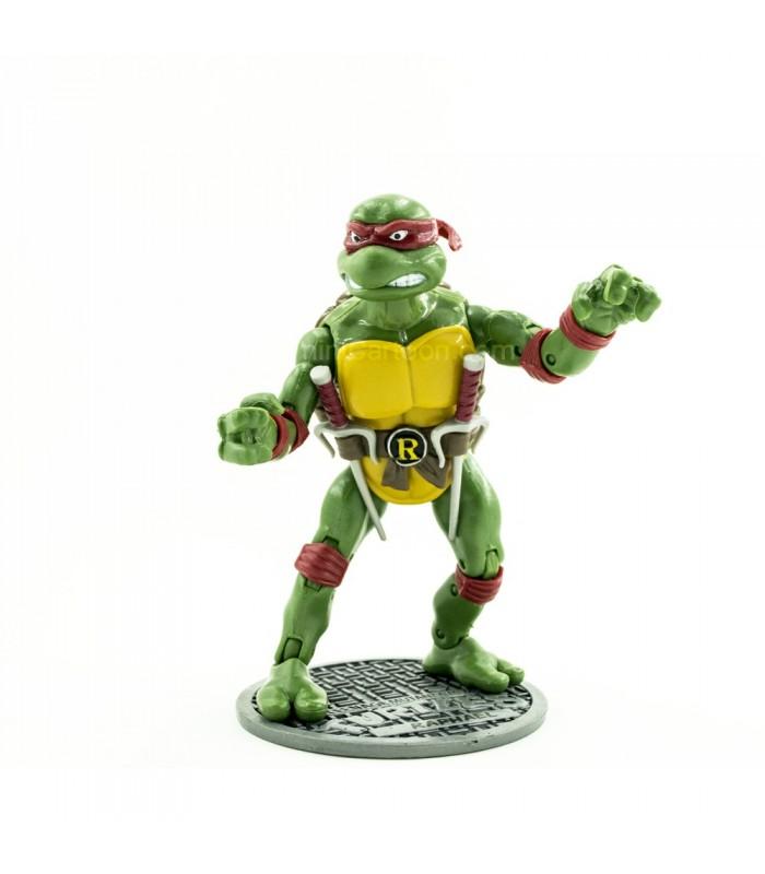 فیگور بزرگ لاکپشت نینجای شمشیر زن - قرمز