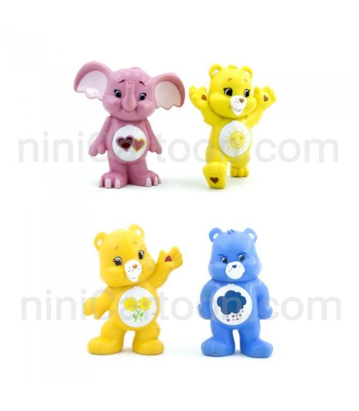مجموعه 4 عددی فیگورهای خرس مهربان - Care Bears