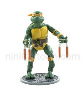 فیگور بزرگ لاکپشت نینجای نانچیکو دار - زرد - Ninja Turtles