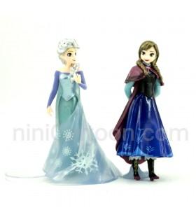 مجموعه 2 عددی فیگورهای آنا و السا - فروزن - Anna and Elsa - Frozen