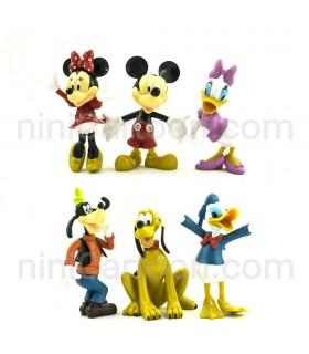 مجموعه 6 عددی فیگورهای میکی موس - Mickey Mouse