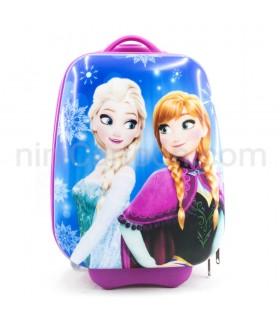 کیف چمدانی چرخ دار آنا و السا - فروزن (مستطیل) - Anna and Elsa - Frozen