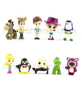 مجموعه 10 عددی فیگورهای داستان اسباب بازی ها - Toy Story