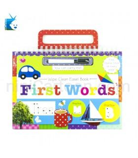 کتاب تمرین کلمات ماژیک دار - Wipe Clean Easel Book - First Words