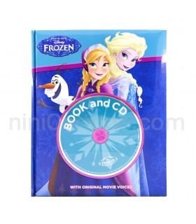 کتاب داستان Frozen - Ana and Elsa - به همراه سی دی صوتی