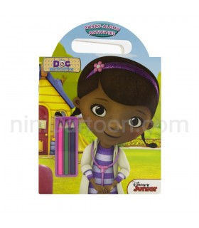 کتاب کار و نقاشی Doc Mcstuffins: Carry-Along Activities