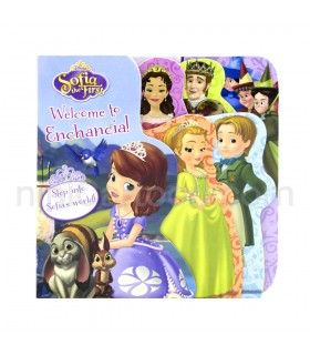 کتاب داستان بوردبوک Sofia The First: Welcome To Enchancial!