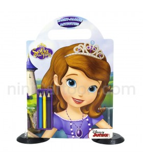 کتاب کار و نقاشی Sofia The First Carry Along Activities
