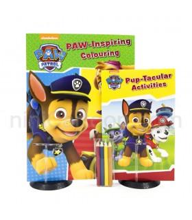 کتاب تمرین و رنگ آمیزی سگهای نگهبان - Paw Patrol: Activity Pack